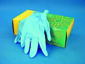 Powder Free Nitrile Gloves With Aloe Vera, Large, 1000/CS