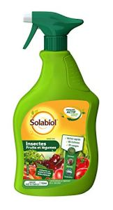 Solabiol SOLEGPAL750 Insecticide Fruits et Légumes   Prêt-à-l'emploi 49 usages, 750mL