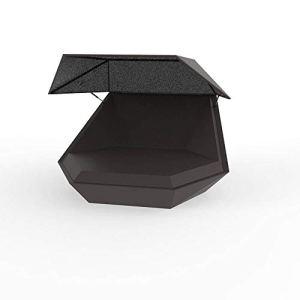 Vondom Faz Daybed lit de jardin con parasol bronze