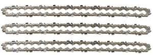 3 tallox Chaînes de tronçonneuses 3/8″ 1,3 mm 44 maillons longueur de guide-chaîne 30 cm compatible avec Stihl