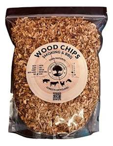 5 Litres de copeaux de bois 100% naturel des forêts de Pologne pour barbecue et fumoir (hêtre)