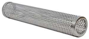 'bbeeq Encens Tube 30cm (12) acier inoxydable–kaltrauch producteurs de pour barbecue à gaz et charbon Barbecue–Encens Box, Pellet de tube de Smoker fumoir, boîte de Fumoir 30 cm Silber