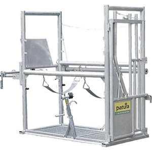 Cage de parage Pro 2, porte arrièrtreuil, protection anti-déjections – 310009