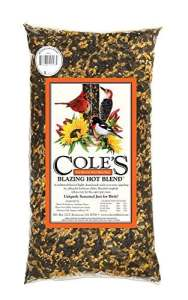 Coles oiseaux sauvages Products Inc – Wild Bird Food, Blazing Hot Blend de 10 lbs.