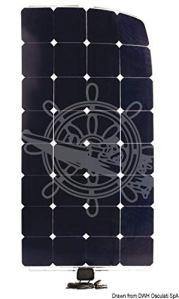 ENECOM Panneau Solaire 120W- 1230×546 mm