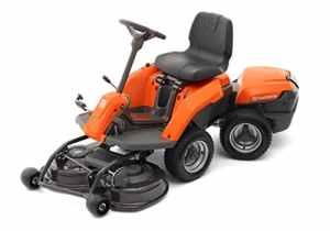 Husqvarna Rider Battery Tondeuse à Gazon Autoportée Roues Motrices 1500 W Coupe 85 cm