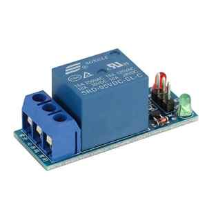 KNOSSOS Mini 1 Channel DC 5V Low Level Trigger Relay Module with Lamp for Electronic – Blue