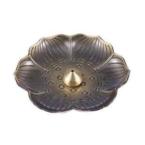 LIOOBO Plat de brûleur d'encens créatif brûleur d'encens Fleur de Prunier Support Porte-encens