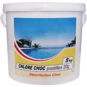 Nmp – chlore choc – Chlore choc pastille 5kg