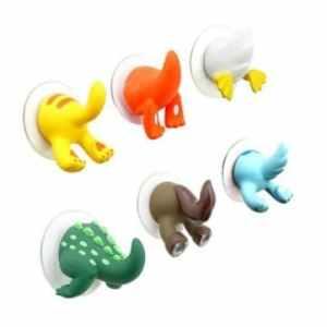 Pakhuis drôle queue des animaux mignon crochets et des cintres