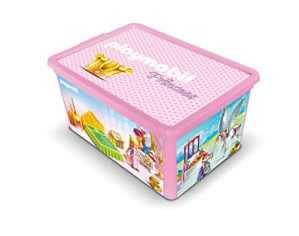 Playmobil – 064749 – Boîte de Rangement – Princesses – 12 L