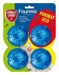 PROTECT EXPERT FBOIT4N Anti-Fourmis Boîtes appâts, 4 x 2Gr