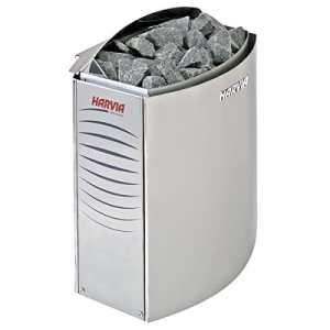 Sauna Poêle Électrique Harvia Vega 6,0 kW nécessite l'unité de contrôle séparé BC60E, Taille de sauna: 5 – 8 m³ , Tension 400 V 3N ou 240 V 1N