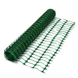 True Products–Filet B1001A en maille plastique pour clôtures, treillis, protection, rouleau de 50m, 5,5kg, vert