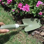 Worth Garden Soft Touch Grip Carbon Steel Head Jardiner Main Truelle Intérieur Extérieur Plantation Pelle