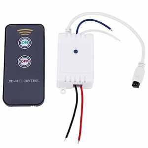 Commutateur On/Off pour récepteur sans fil IR Récepteur IR infrarouge pour 1CH 12V