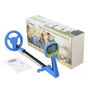 Détecteur de métaux pour enfants, Détecteur de métaux LCD facile à utiliser pour enfants et débutants