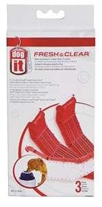 Dogit Fresh & Clear Pack de 3 Filtres de Purification pour Abreuvoir pour Chien