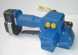 Gowe automatique Portable et électrique Alimenté par batterie pour animal domestique PP Plastique cerclage machine, pour animal domestique à la main le cerclage d'emballage Outil pour 16–19mm