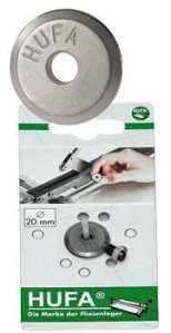 hufa 9305molettes pour coupe-tube outil de hufa Boutique en ligne Roulette molettes 20mm + axe Roulette de rechange & Boulons