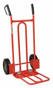 KS TOOLS 160.0229 Diable avec bavette roues pleines – 250 kg