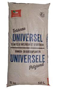 La plaine chassart | Terreau Universel 50L | Toutes variétés de Plantes d'intérieur et d'extérieur