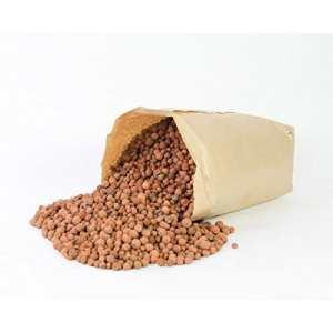 Lot 2 x Billes d'argile en sac, brun, 40 Litres, 16 kg – 2 pcs sacs d'argile / substrat / granulat – artplants