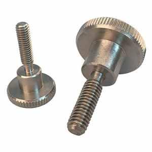 Lot de 50vis moletées m3x 4à acier inoxydable M6x 30forme haute DIN 464A1