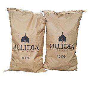 MILIDIA Gastro Charbon de Bois Dur 270 kg