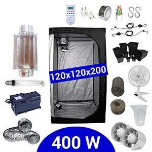Pack Box 400W Cooltube 120×120 – Black Box 2 + Supacrop