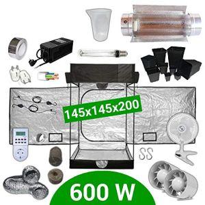 Pack Box 600W Cooltube 150×150 – Black Box 2 + Supacrop