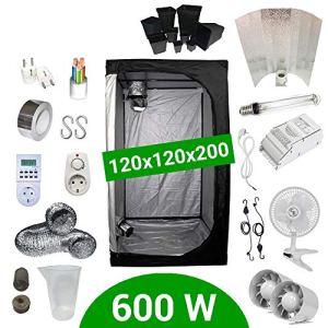 Pack Tente 600W 120×120 – ETI + Supacrop