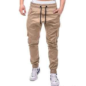 Pantalons Homme Sarouels Pantalons de Jogging Pantalons Jogger Casual Danse Sportwear Baggy Sweat Pants Pantalon de Sport Hiver Pantalons de Survêtement