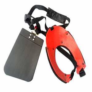 ZPL Sangle d'épaule Tondeuse – Tondeuse Sangle de Harnais Tondeuse Double épaule avec Support Durable pour débroussailleuse ou Jardinier