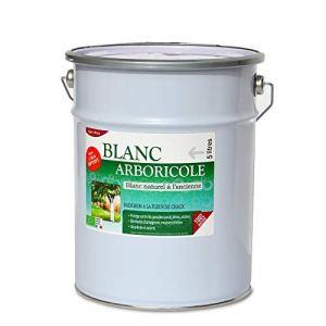 Agro Sens – Blanc arboricole à l'ancienne. Blanc Pur, 4 litres + 1 Litre Gratuit