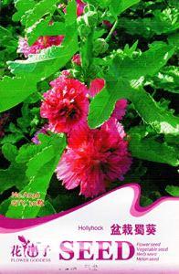 AGROBITS 30 Voir/Paquet HollyhockAlthaea t trémière Emballage d'origine A036