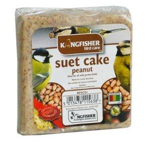 Bird Feed Wild Bird High Energy Kingfisher Suet Cake Peanut Extremely Popular