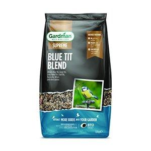 Gardman A06630mésange Bleue Blend, Multicolore, 1.8kg Mésange Bleue 1.8 kg Naturel