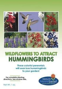 GEOPONICS Hummingbird Nectar flowerBulk + 8 Bonus Gardening Ebooks Open Pollina