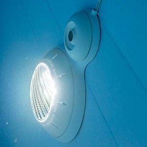 Gre PLPB14 – Projecteur à led blanche pour piscine surélevée, 21 W