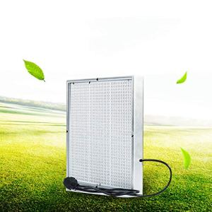 Lampe de croissance pour plantes 120 W Fruits et légumes 1365 LED pour serre de plantes, 31 x 31 x 3,5 cm