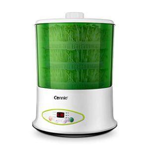 Machine de germes de soja Accueil Calendrier de Rendez-Vous Germination des germes Vert Culture de Grande capacité, Machine à vin de Riz au Yaourt, Vert
