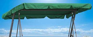 Quick-Star Toit de Rechange pour balancelle balançoire vert 200x145cm