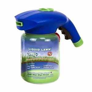Smilikee Liquide Gazon Pulvérisateur Pistolet De Jardin Pistolet De Douche en Plastique Facile Graine Arrosage Peut Hydro Mousse Graine Artefact Plantation