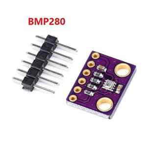 ZengBuks Module de capteur de Pression atmosphérique GY-BMP280 3,3 V Haute précision – Violet