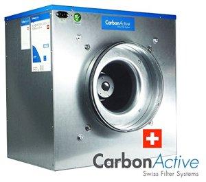 Active EC Silent box carbone avec greenception wuchs Engrais 100g 2200 m3/h