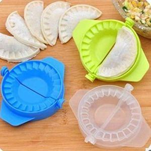 Dumplings en plastique Clip moule manuel gadget cuisine gadgets de cuisineTransparent