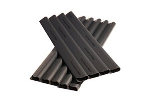 Lot de 50bandes Pare-vue PVC–– Rails–Pare-vue/pare-vent pour jardin et–Clips de fixation–Palissade–Clôture Anthracite universel