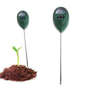 Mentin Soil Moisture Sensor Mètre testeur, Moniteur de l'eau du Sol, Hygromètre humidité testeur de Plante, idéal Le Jardin, Ferme, Pelouse, intérieur extérieur (sans Batterie Nécessaire)
