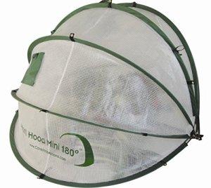 Rob McAlister Ltd Horti Hood 90° Petite serre pliable à fixation murale en forme de cloche
